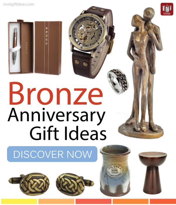 Wedding Gift Ideas For Guys : Top Bronze Anniversary Gift Ideas for Men - Vivids