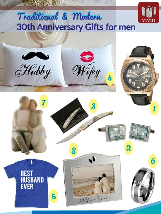 Traditional 30th Wedding Anniversary Gift: Unique 30th Anniversary Gift Ideas For Him